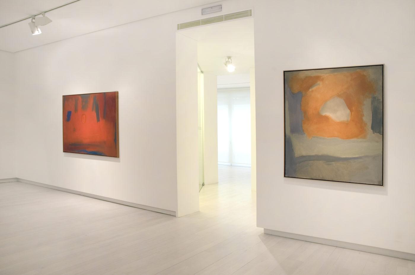 Esteban Vicente Vistas Exposición, 2011 Galería Elvira González