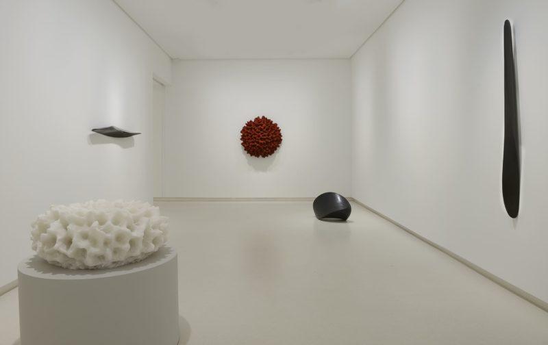 Juan Asensio Vistas de la exposición, 2017 Galería Elvira González