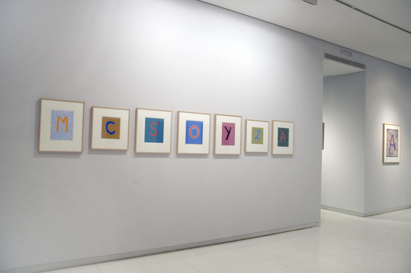 Alfredo Alcaín vistas de Exposición, 2011 Galería Elvira González