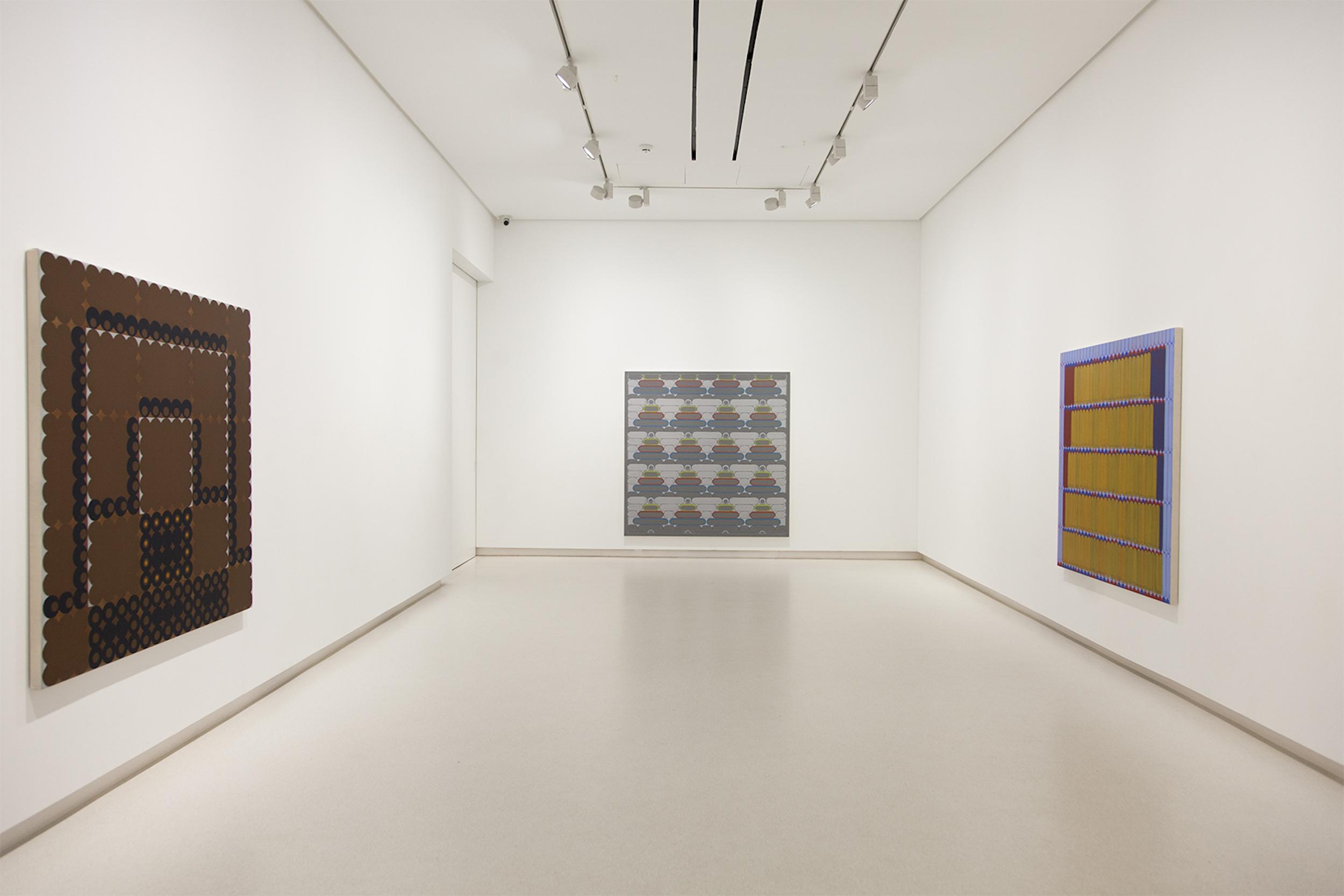 Dan Walsh Vista de la exposición, 2018 Galería Elvira González