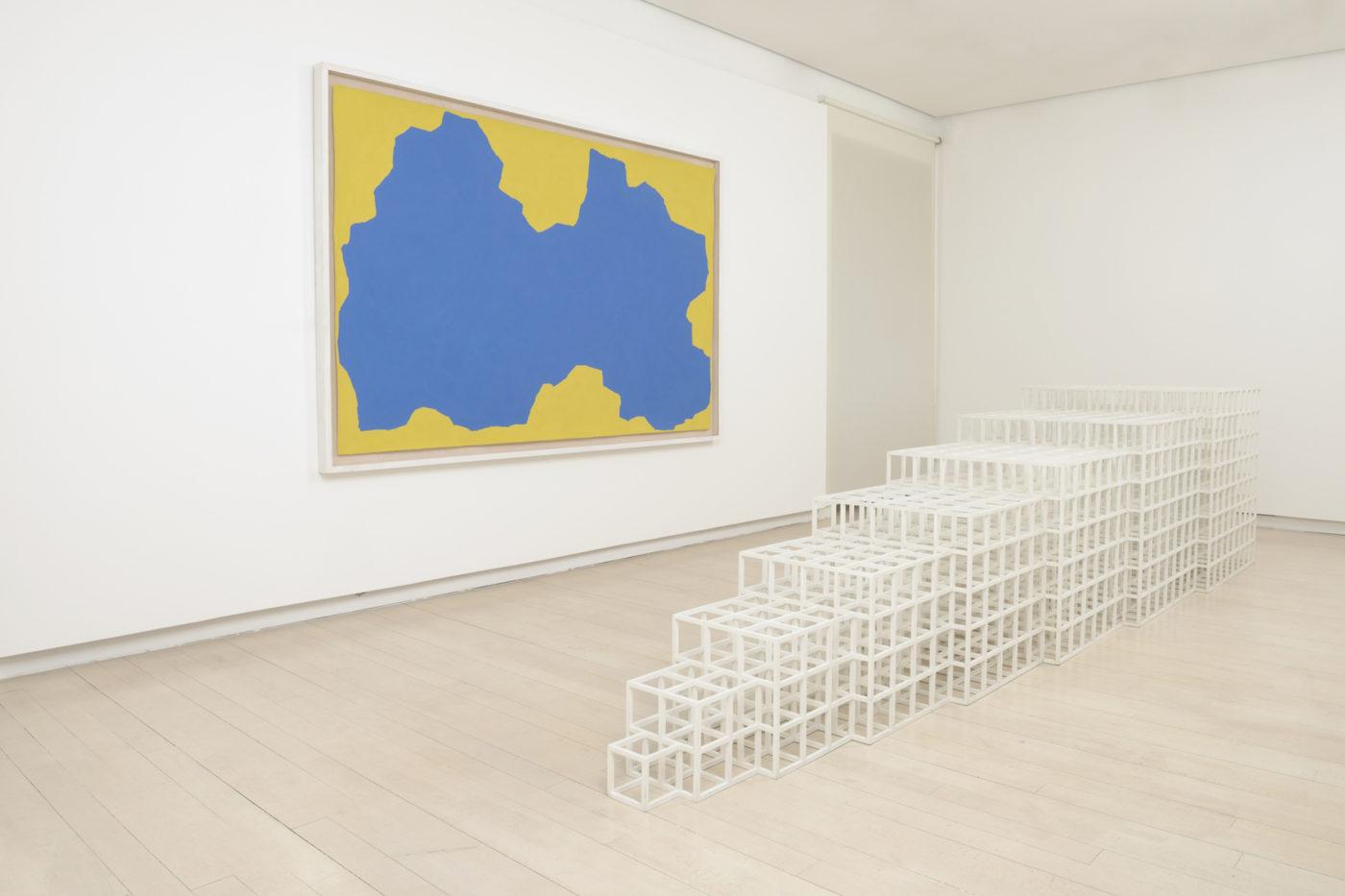 Sol Lewitt vistas de Exposición, 2015 Galería Elvira González