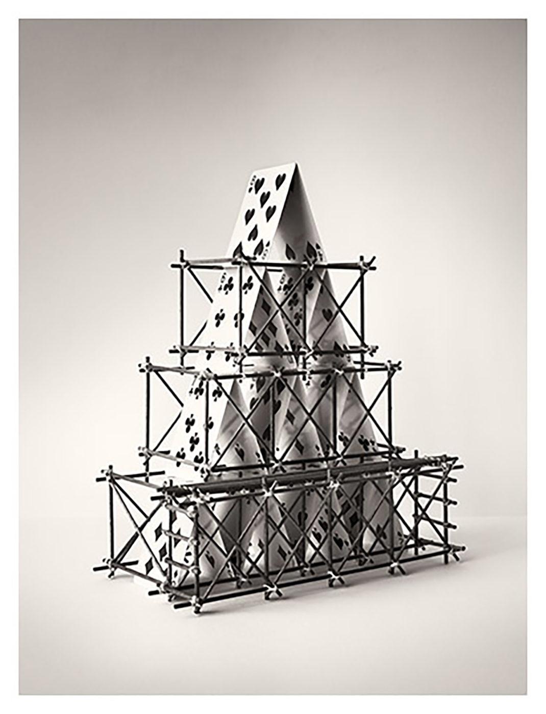 fotografía en blanco y negro de chema madoz.Sin título, 2020 medidas 161x125cm